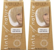 (2 Pack) - Tints of Nature - Extra Light Blonde   120ml   2 PACK BUNDLE