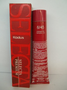 Kadus Selecta Premium Permanent Cream Hair Colouring Cream - 60ml Tube - 6/45 Mahogany-Red
