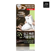 Miseenscene Self Bubble Hair Dye Easy Quick Foam 5N -Brown