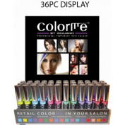Colorme by Giuliano Professional Temporary Hair Colour 36pc Display