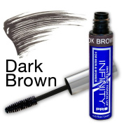 Infinity® Root Cover Up | Dark Brown | Colour Grey Hair | Root Touch Up | Quick Fix Concealer Takes Grey Away | Covers Instantly | No Spray or Dye Needed | Safe For Everyday Use | For Women & Men