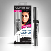 Cover Your Grey Waterproof Root Colour Touch up - Black