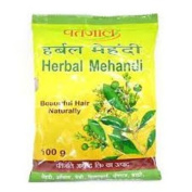 Baba Ramdev Patanjali Herbal Mehandi for Hair 100gm