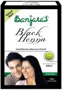Banjaras Black Henna with Amla - Free Brush.