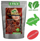 Natural Red Henna Hair Colour / Dye 3 Pack - The Henna Guys