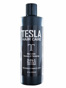 Tesla Hair Care Men's Daily 2-in-1 Shampoo & Conditioner 500ml with Biotin, Vitamin E, C, & B