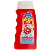 White Rain Kids 3-in-1 Hair and Body Wash - 350ml - Strawberry Splash