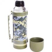 Maxam® 1000ml (1l) Digital Camo Vaccuum Bottle