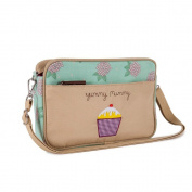 Pink Lining Mini Yummy Mummy Nappy Bag, Hydrangea