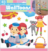 Edge Home Products Walltoons Girls Doll Wall Sticker