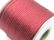 U PICK Wholesale Multi-colours 2 Roll 100 Yards 2.0mm Rattail Satin Silk Cord Chinese Knot Beading Cord