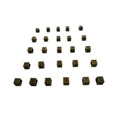 DIY Jewellery Making Alphabet beads, 26 pieces of A-Z Antique Bronze Alphabets Wholesale Jewellery Making Supplies and Beads