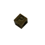 DIY Jewellery Making Alphabet beads, 30 pcs Antique Bronze alphabets 'P' Wholesale Jewellery Making Supplies and Beads