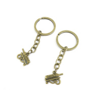 10 PCS Keyrings Keychains Key Ring Chains Tags Jewellery Findings Clasps Buckles Supplies C7DQ2 Wine