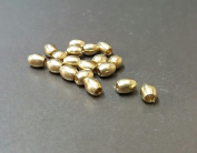 Metal Oval Brass Bead Jewellery Making 5mm × 4mm