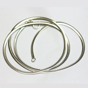 "1pc 925 sterling silver 18"" inches Jewellery Necklace Finished Chain,2mm width ,0.8mm thick, 12*6mm lobster claw clasp"