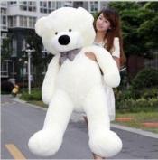 "Celoz Giant 47"" Cream Colour Lovely 120cm Big Fluffy Baby Plush Toy Home Bedding Stuffed Teddy Bear"