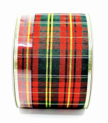 Jo-ann's Holiday Plaid Ribbon,polyester