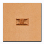 X2842 Basketweave Craftool Pro Stamp Tandy Leather 82842
