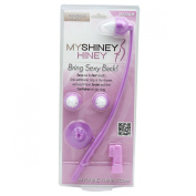 My Shiney Hiney Bristle Cleansing Brush Set, Medium, Violet