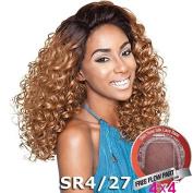 ISIS Brown Sugar Human Hair Blend Silk Lace Wig - BS605 (10cm x 10cm Lace)