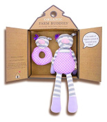 Organic Farm Buddies Gift Set, Penny The Piggy