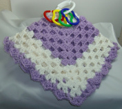 Snuggy with Teething Toy Size 48cm x 48cm