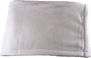 Iddy Kiddy Mink Touch Baby Blanket. B1005 White