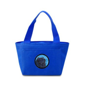 Caroline's Treasures SS4777-BU Chow Chow Lunch or Doggie Bag, Large, Blue