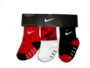 Nike Newborn Baby Socks, 3 PAIRS, Size 12 - 24 Months