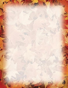 Realistic Autumn Leavesstationery100 ct