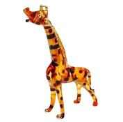 TINY CRYSTAL Giraffe HAND BLOWN CLEAR GLASS ART Giraffe FIGURINE ANIMALS COLLECTION GLASS BLOWN ...
