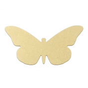 Mini 15cm Butterfly (Pkg of 4) Miniature Unfinished DIY Wooden Craft Cutout to Sell Stacked