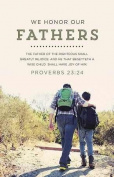 B & H Publishing Group 75227 Bulletin - We Honour Our Fathers - Growing By Loving God