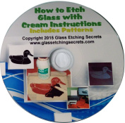 Glass Etching CD Ebook & Patterns