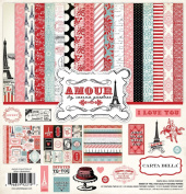 Carta Bella Paper Company Amour Collection Kit