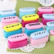 Krismile® 10Pieces Set Creative boundary craft punch embossing diy Border Punch edge lace punch for Card making Scrapbooking