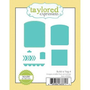 Taylored Expressions Dies - Build a Tag 4