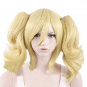 Xcoser Harley Golden Yellow Cosplay Wig Hair For Cosplay Costume Accessories