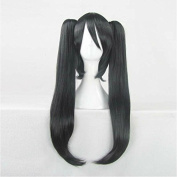 CASSICAT® Lolita Long Curl/curly/wavy Clip on Ponytails Cosplay Party Wig + Wig Cap