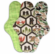 3-pack IncrediPad Waterproof Cloth Menstrual Pad by Talulah Bean- 30cm
