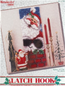 Latch Hook Kit - Santas Arrival