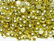 3700pcs Assorted Mixed Sizes Flat Back Pearl Cabochon By Zbella Includes Free Wax Pencil