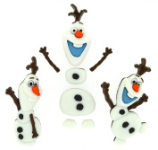 Dress It Up Disney Frozen Button Embellishments