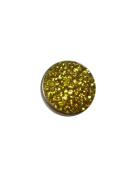 Snap Charming Crystal Yellow Interchangeable Jewellery Snap Button Accessory