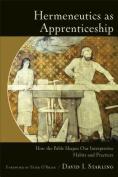 Hermeneutics as Apprenticeship