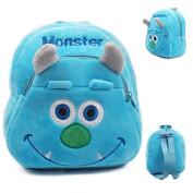 Unisex Blue Useful School/kindergarten Satchel for Kids 23cm