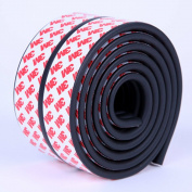 LivingParadise Bumper Strip Surface Protector Corner Edge Kushion Guard for Airwheel Self-Balancing Unicycle 2Meters long with Widen Original 3M Double Sticky Tape