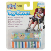 Toy Saver by PBnJ baby - Baby Toy Holder, Secure Rattles, Teethers, Toys, 2-Pack