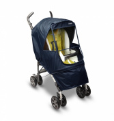 Manito Elegance Alpha Stroller Weather Shield / Rain Cover - Navy